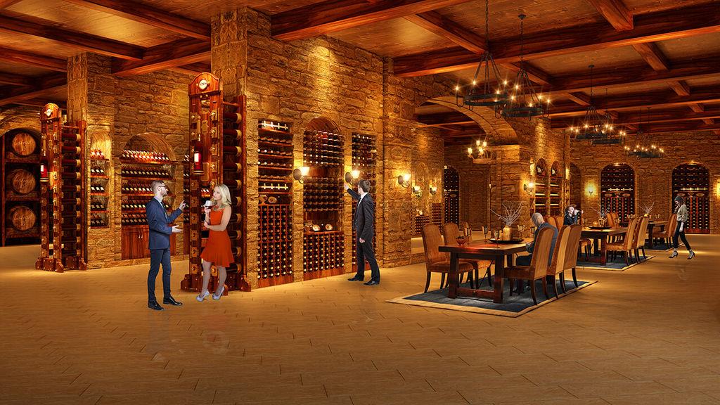 hầm rượu hateco laroma