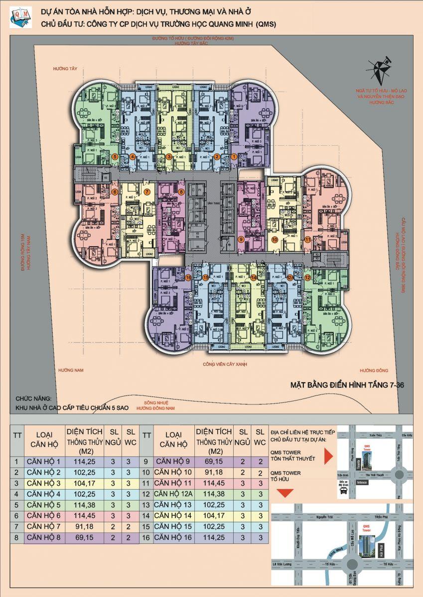 mặt bằng chung cư qms tower 2