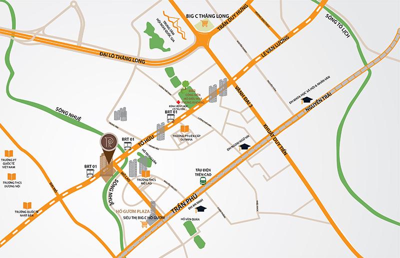 vị trí chung cư qms tower 2
