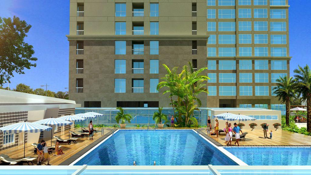 bể bơi chung cư the luxury tower