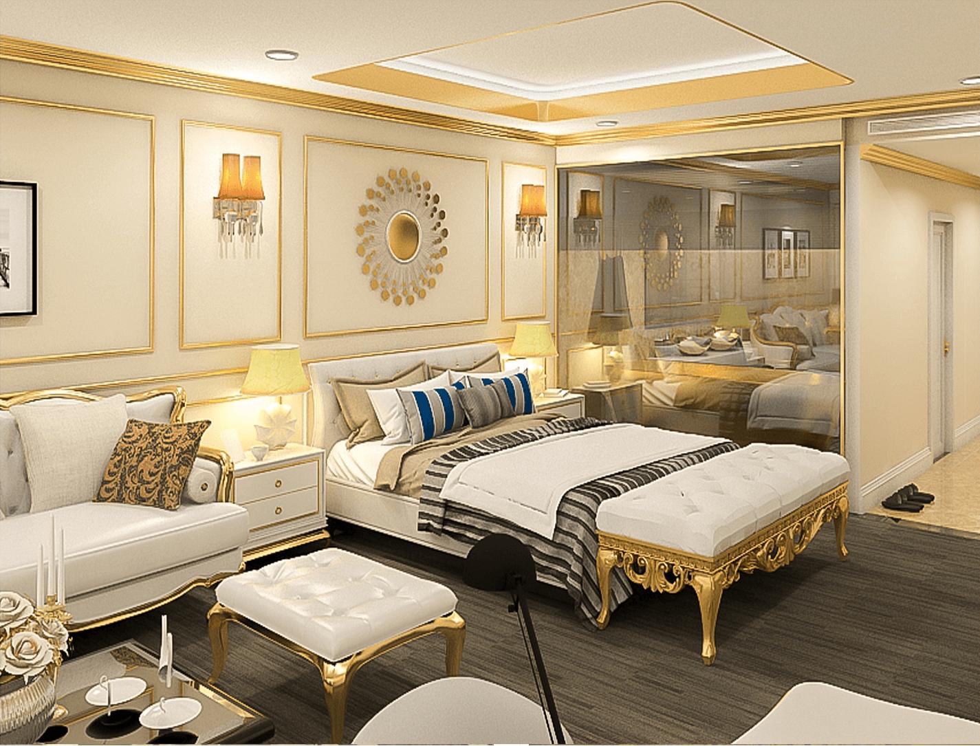 nội thất chung cư hà nội golden lake