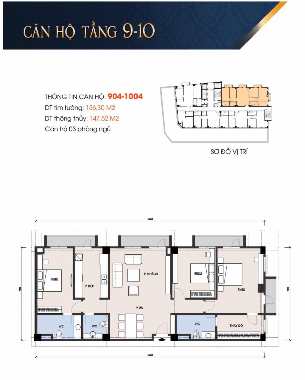 thiết kế căn hộ chung cư t-place