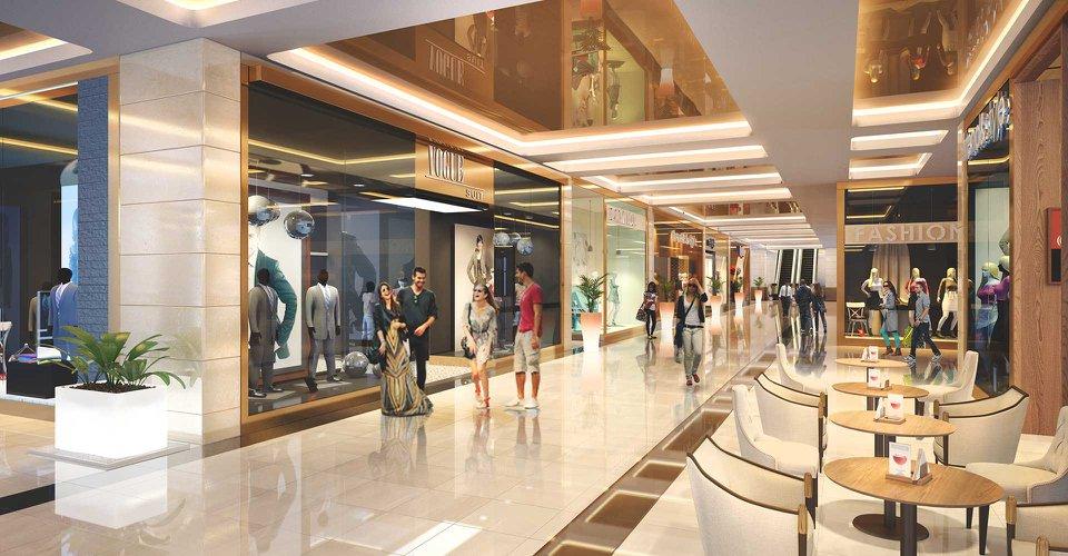 trung tâm thương mại the luxury tower