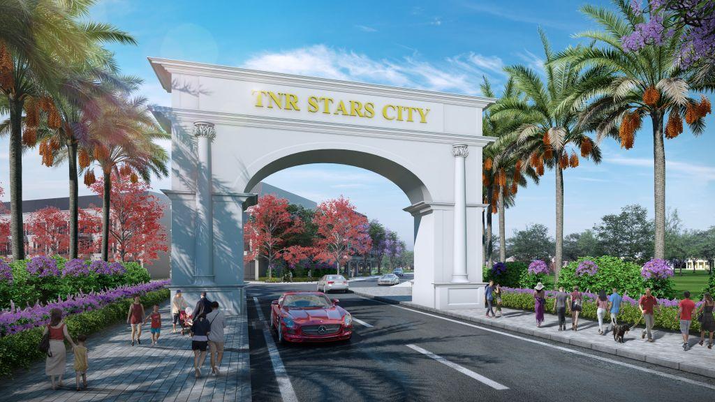cổng chào dự án tnr star city