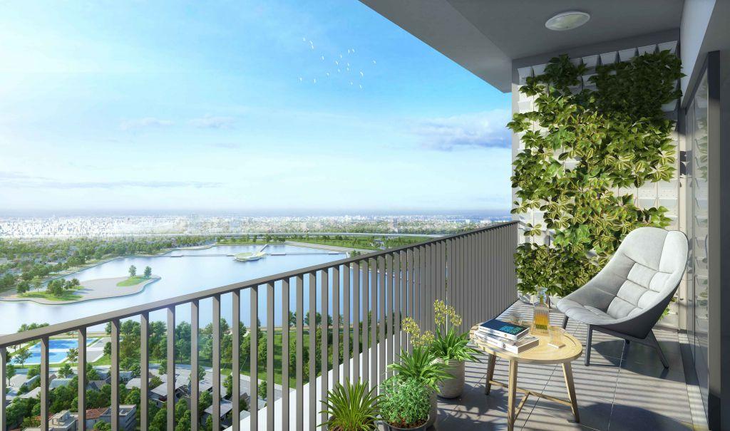 logia căn hộ cho thuê sky park residence