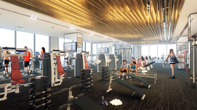 phòng gym tây hồ golden land