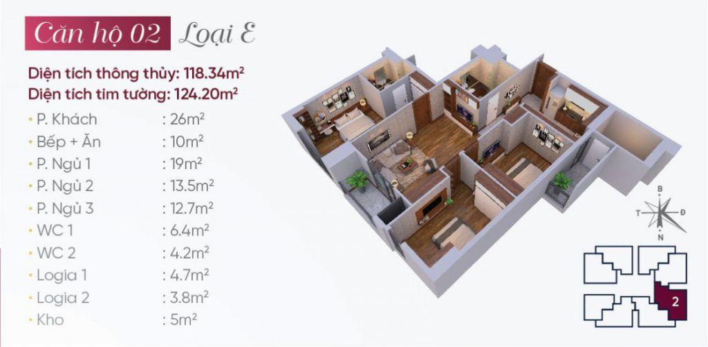 thiết kế căn hộ 02 tây hồ golden land