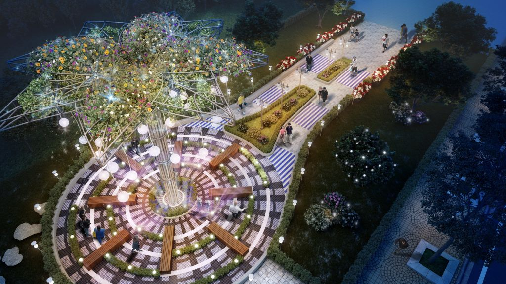 quảng trường tnr stars city lục yên