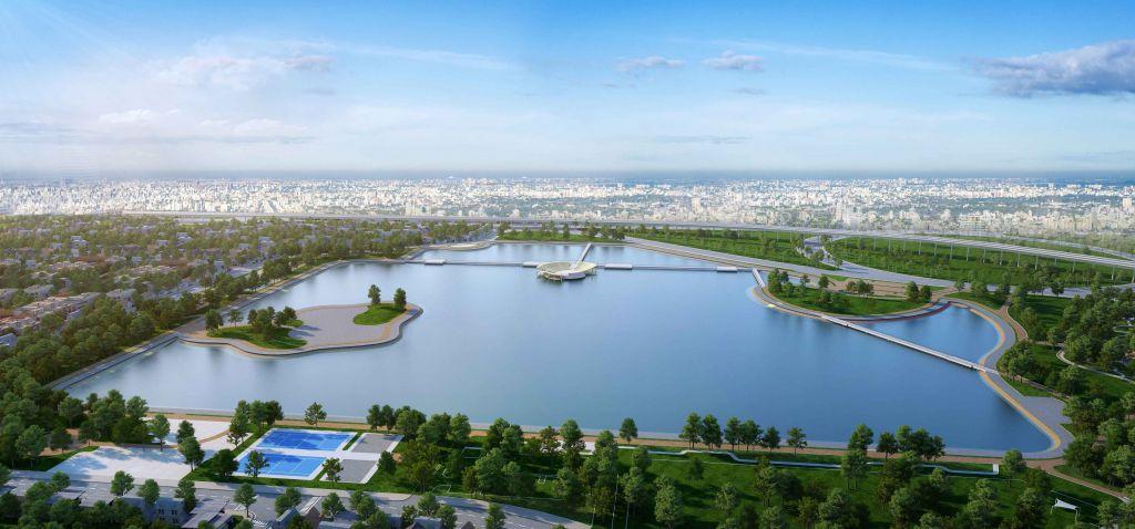 vị trí căn hộ cho thuê sky park residence