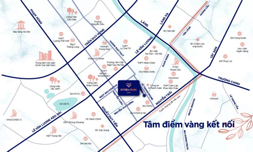 vị trí chung cư rivera park hà nội