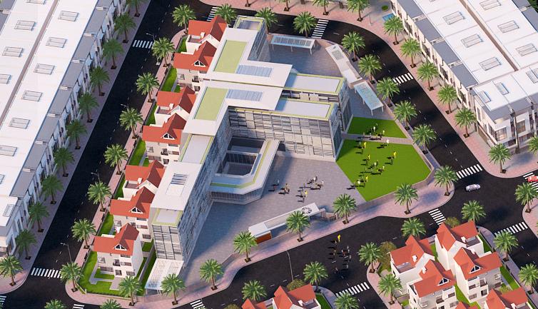 tiện ích dự án bình lục new city