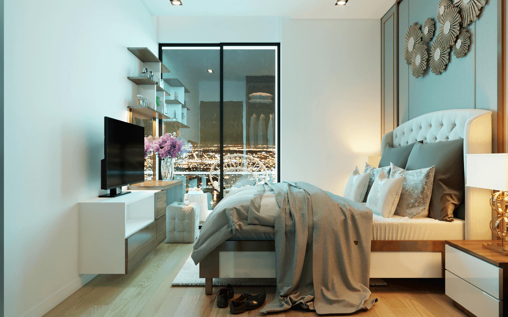 nội thất căn hộ chung cư an bình plaza