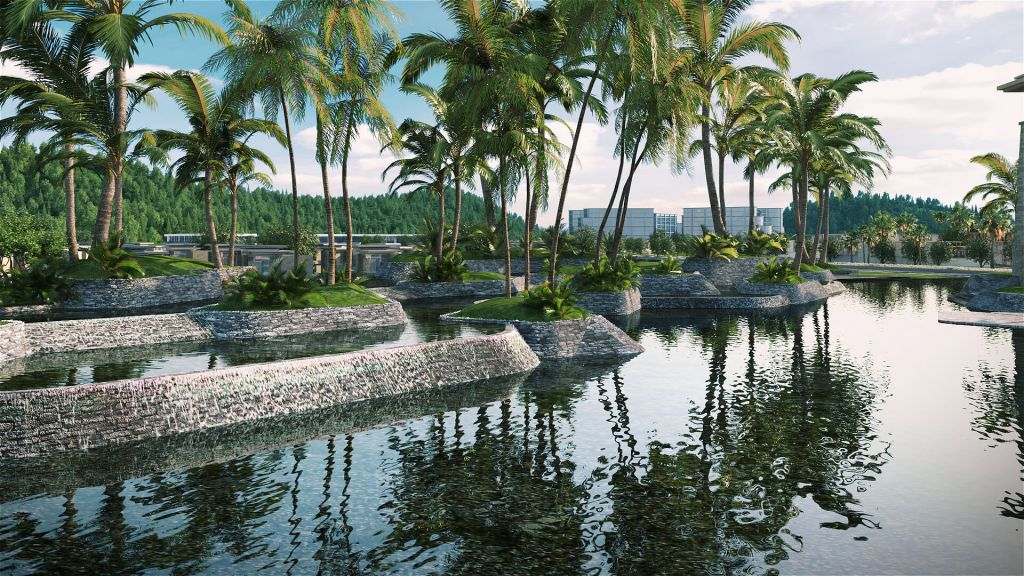 tiện ích dự án 6 miles coast resort