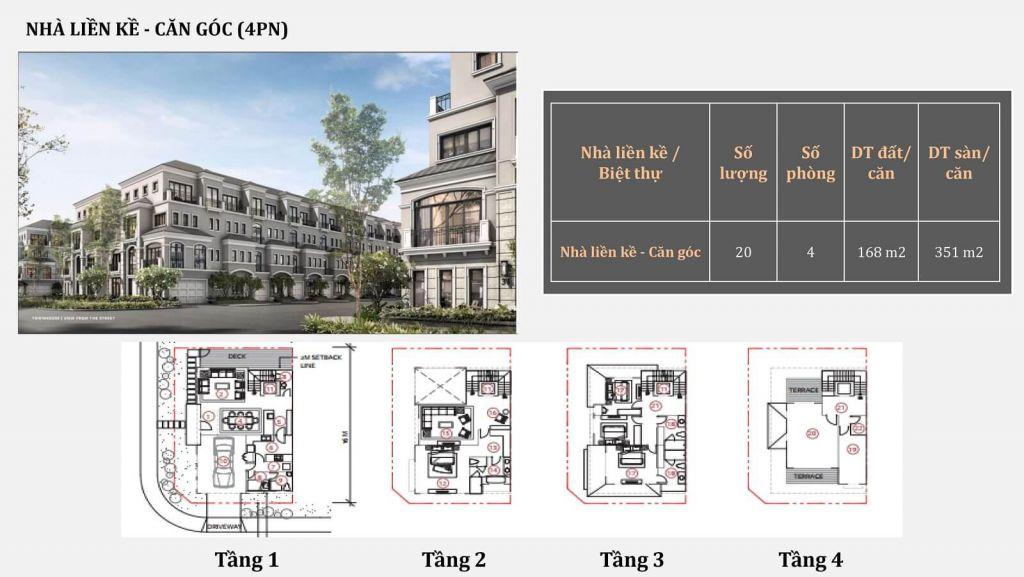 thiết kế liền kề grand bay hạ long villas