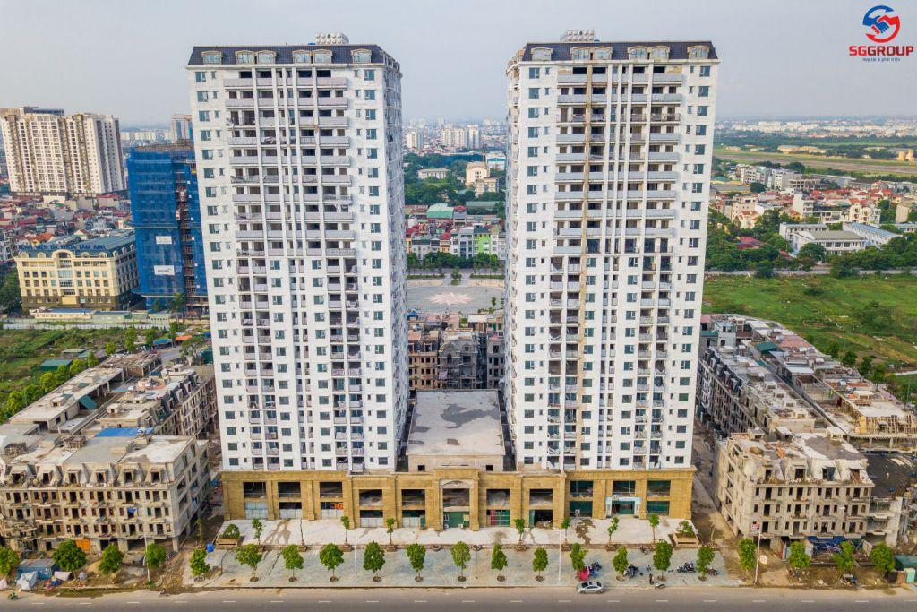 tiến độ chung cư hc golden city