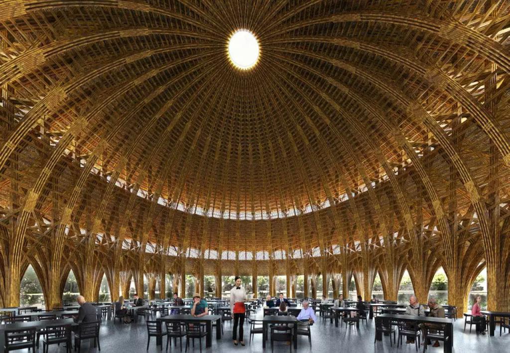 nhà hàng dự án vedana resort ninh bình