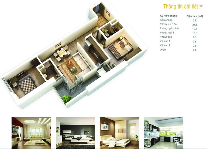 thiết kế chung cư the pride
