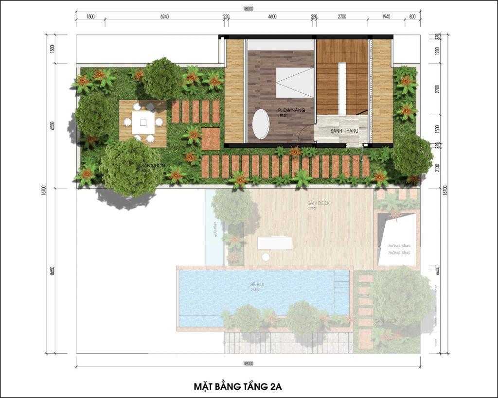 thiết kế biệt thự the legend villas - flamingo đại lải