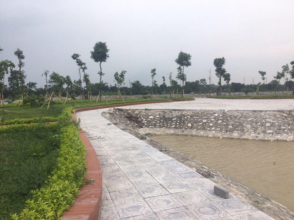 tiến độ dự án đồng văn green park