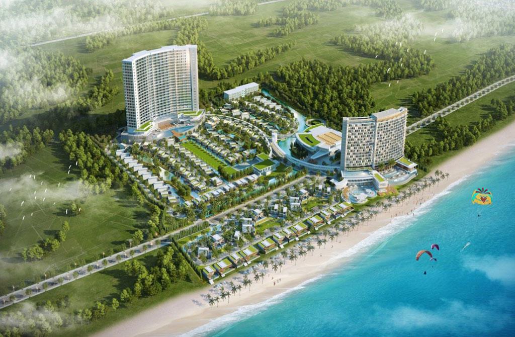 dự án wyndham tropicana long hải