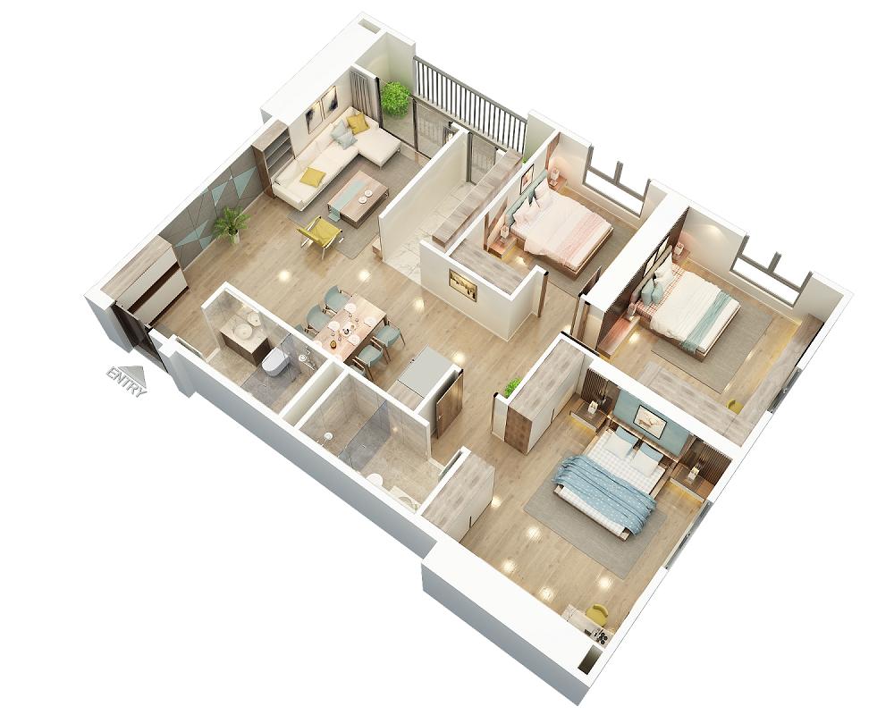 căn hộ bid residence