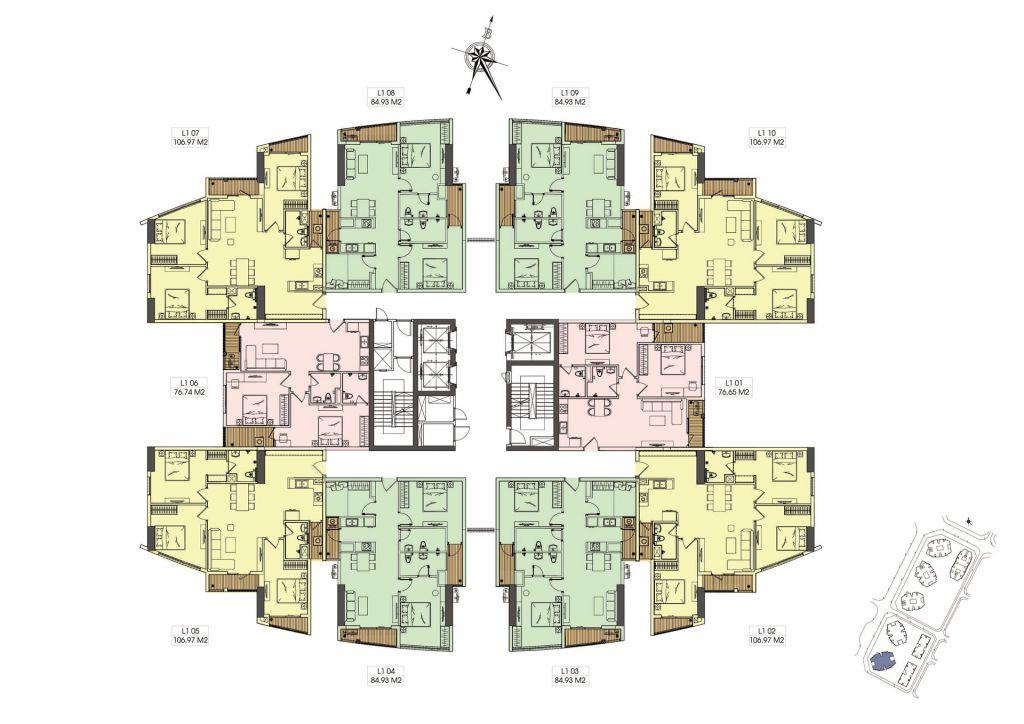 mặt bằng chung cư le grand jardin tòa g1