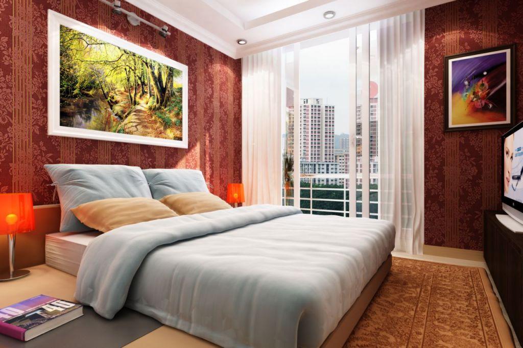 phòng ngủ chung cư bid residence