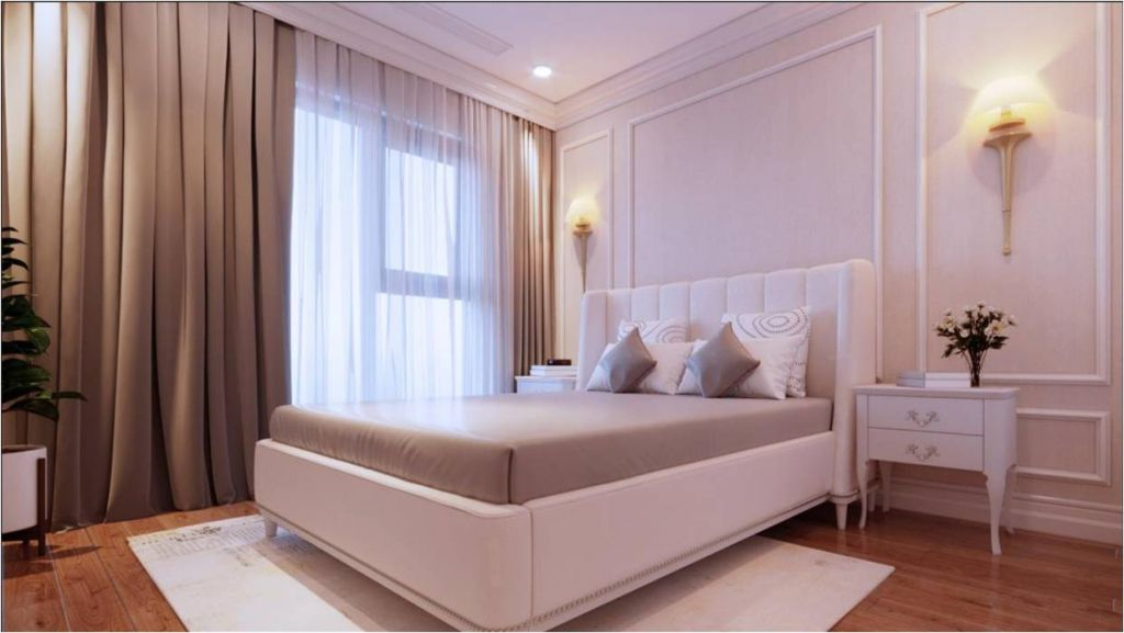phòng ngủ chung cư le capitole