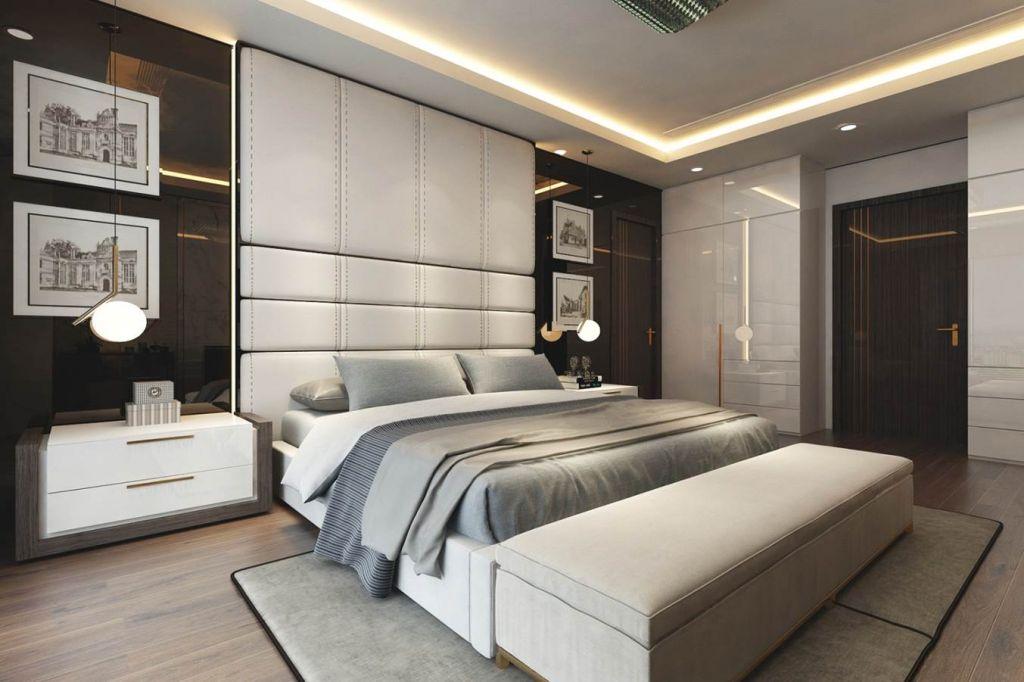 phòng ngủ chung cư sunshine boulevard