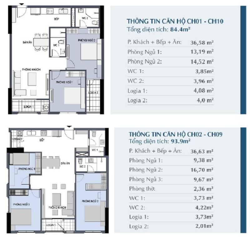 thiết kế căn hộ le capitole thái thịnh