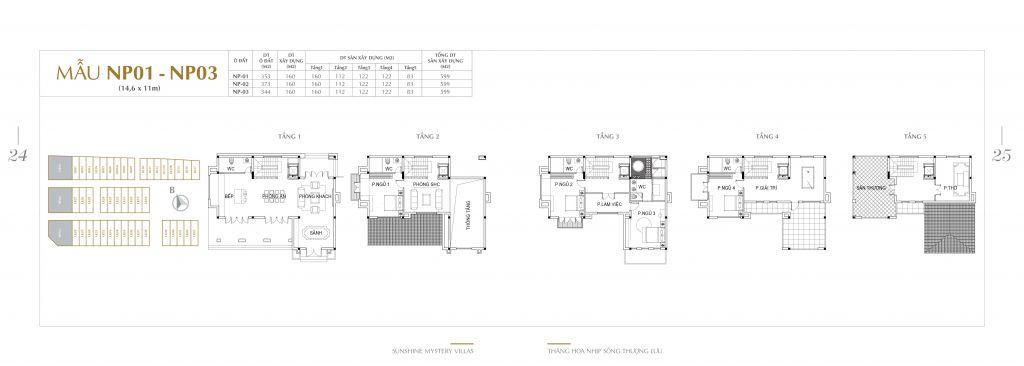 thiết kế shophouse sunshine mystery villas
