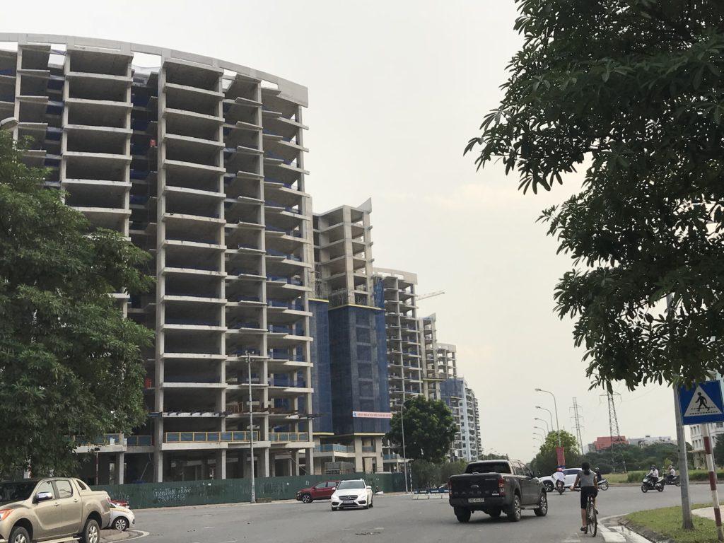 tiến độ xây dựng chung cư le grand jardin