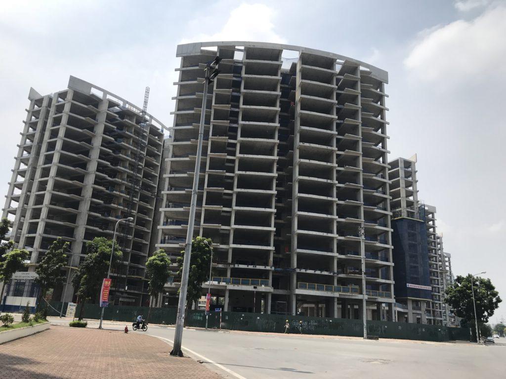 tiến độ xây dựng chung cư le grand jardin sài đồng