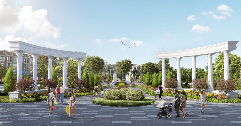 quảng trường dự án tnr star thắng city