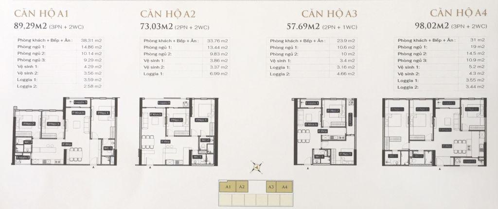 thiết kế căn hộ anland lake view