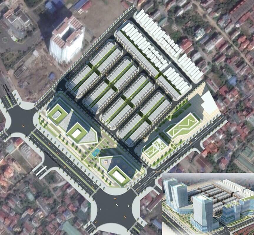 vị trí dự án hoàng huy mall