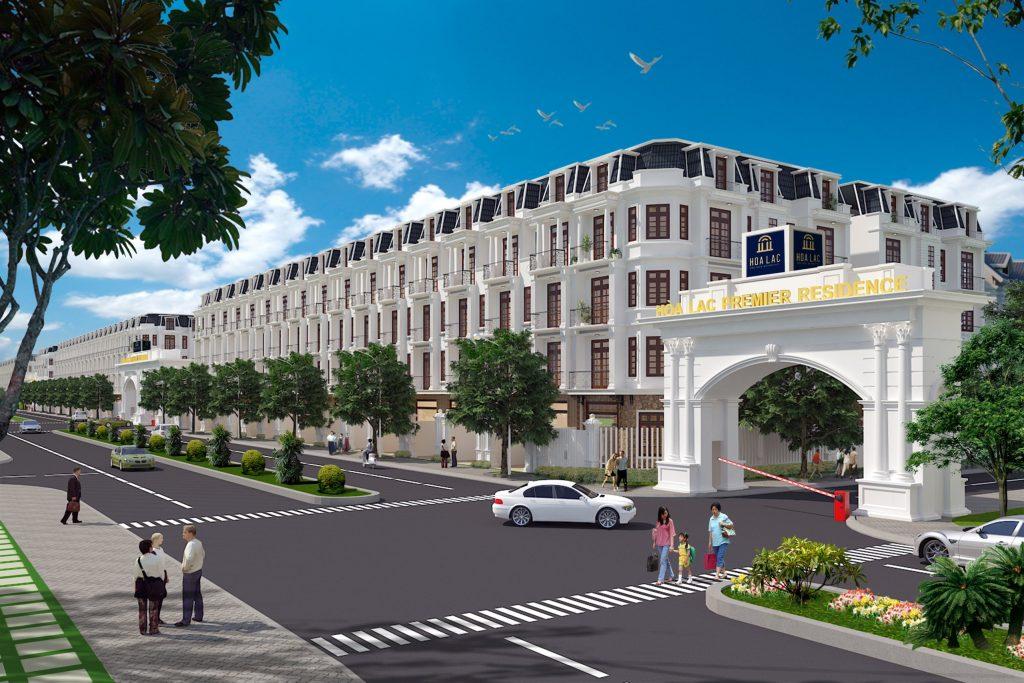 biệt thự liền kề dự án hòa lạc premier residence
