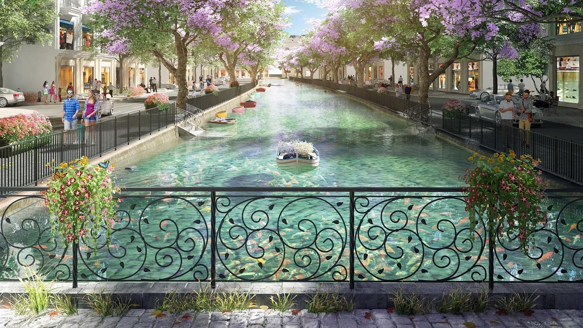 tiện ích dự án green dragon city