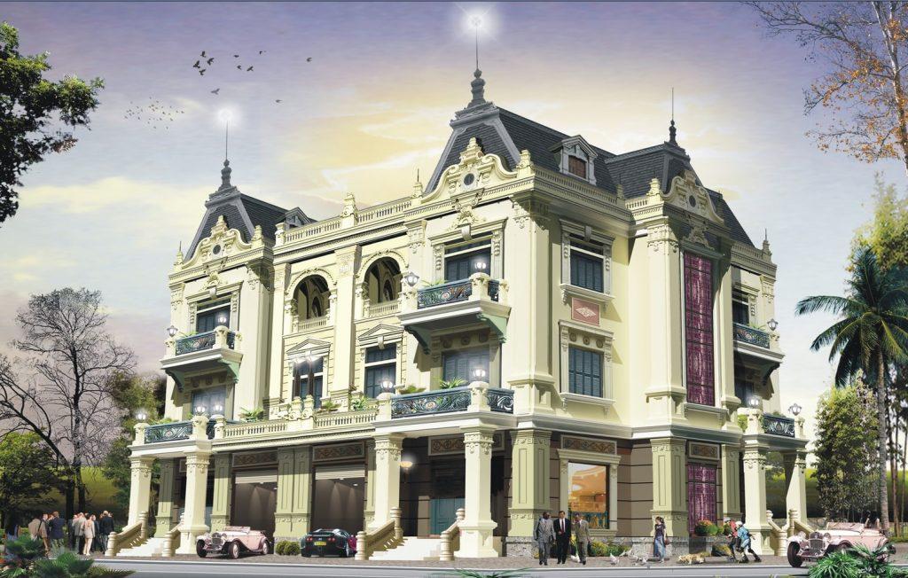 lâu đài song lập dự án hòa lạc premier residence
