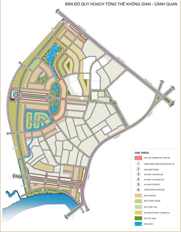 mặt bằng dự án danko city thái nguyên