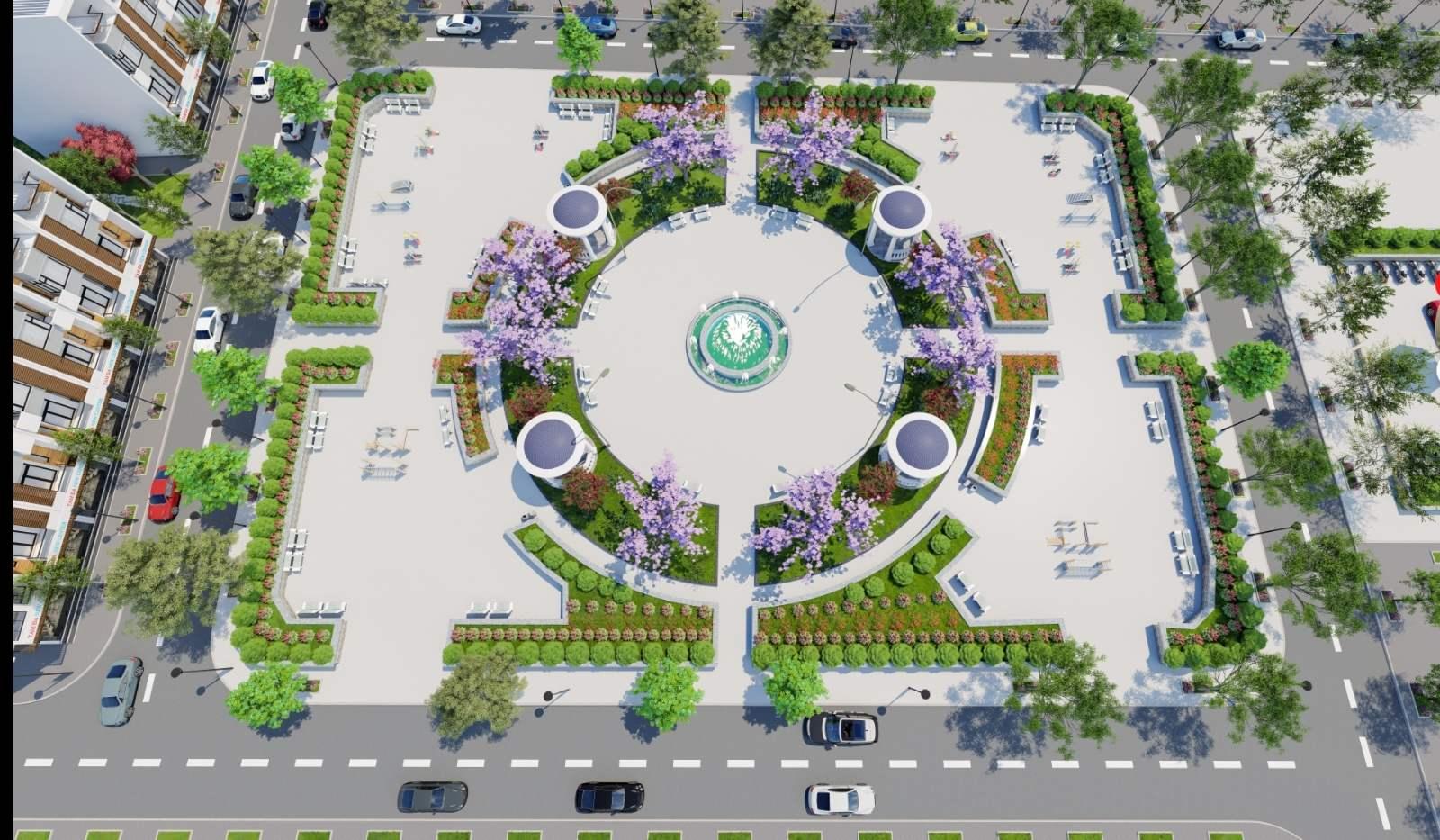 quảng trường dự án tam đa new center