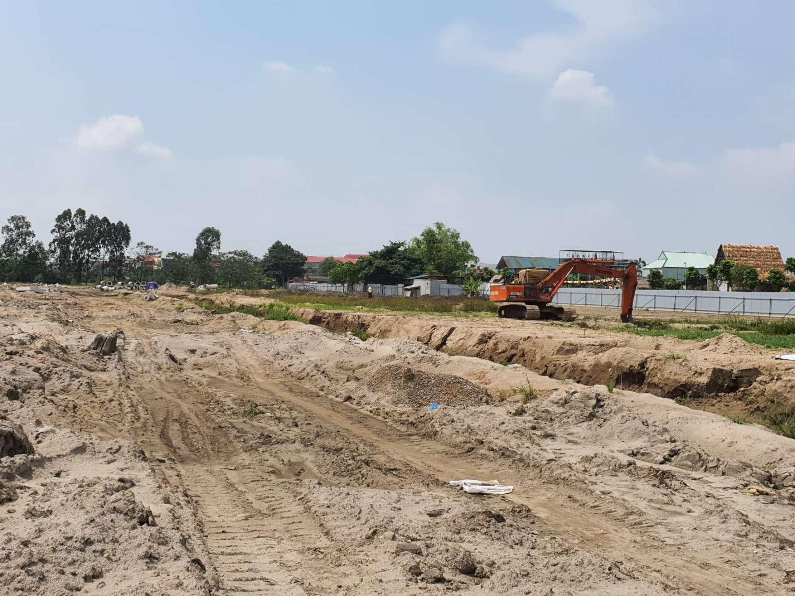tiến độ dự án tam đa new center