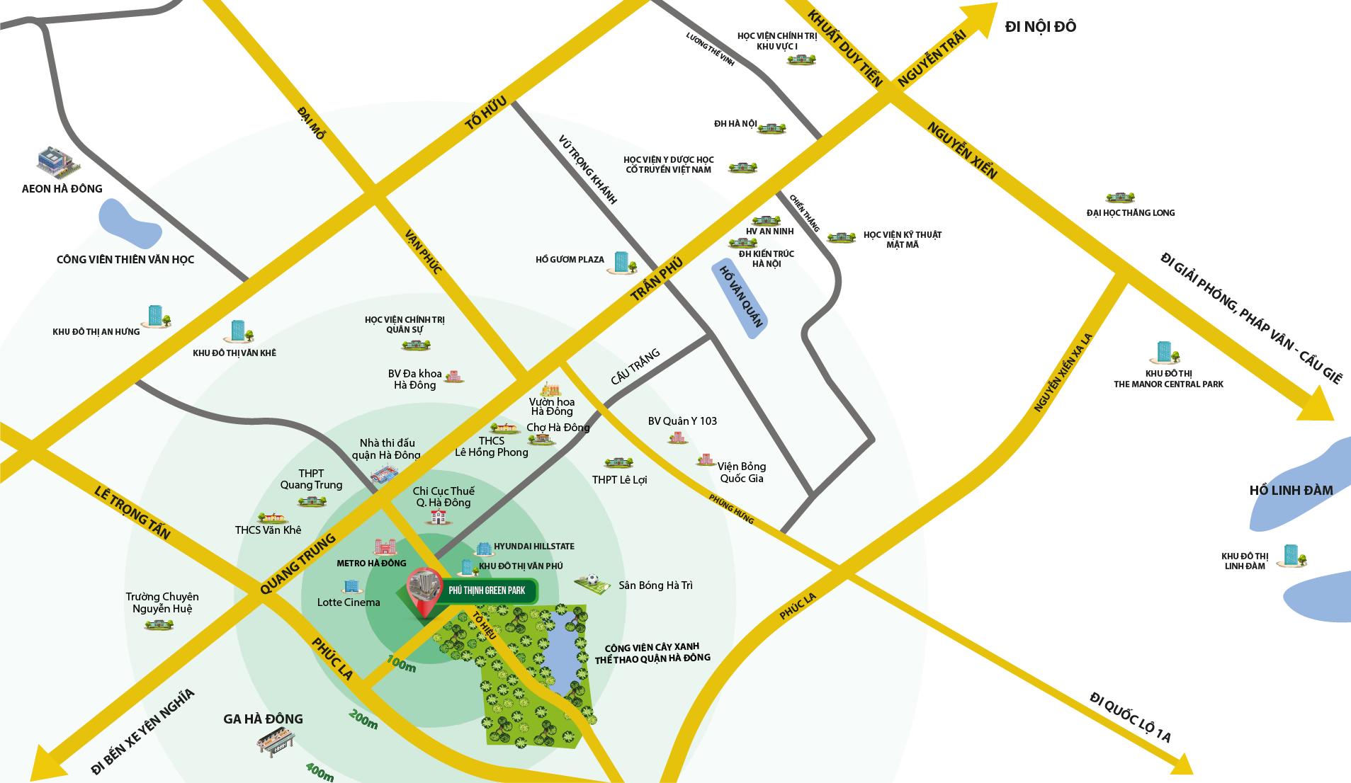 vị trí chung cư phú thịnh green park