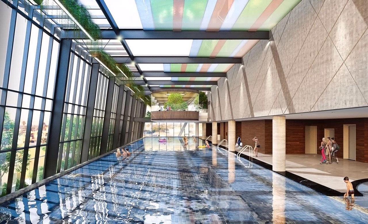 bể bơi bốn mùa grandeur palace giảng võ