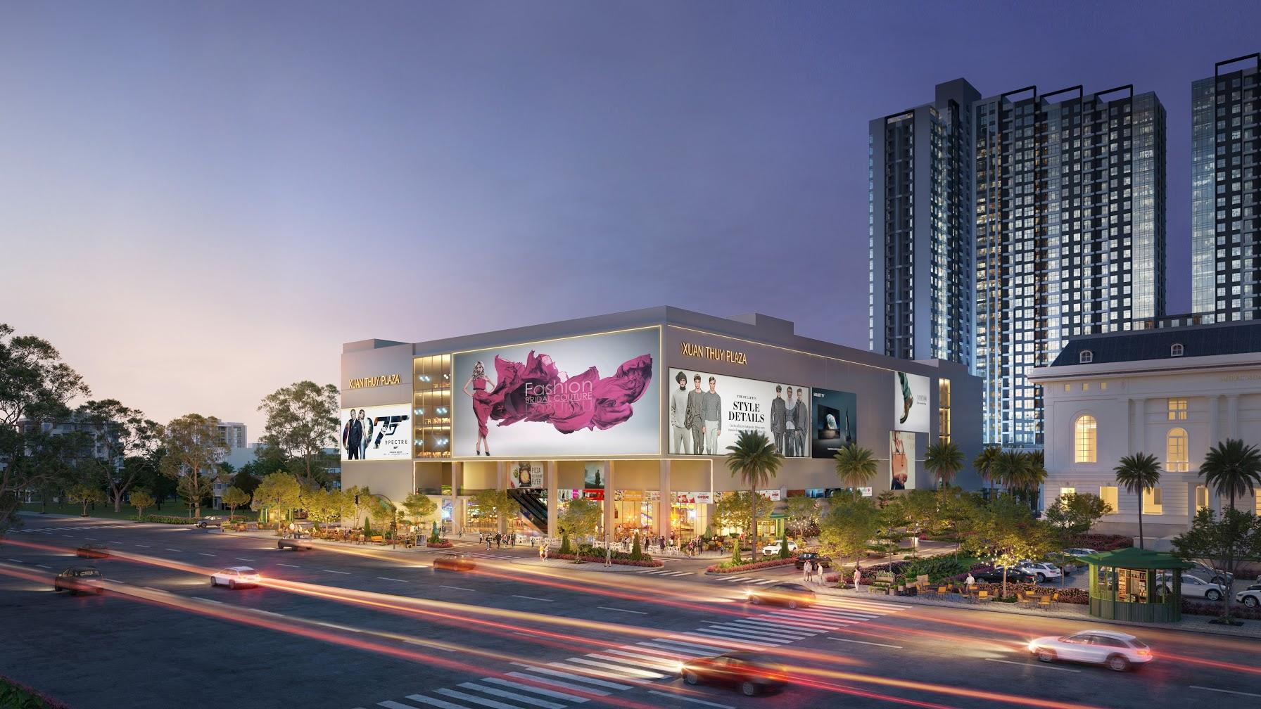 trung tâm thương mại dự án mipec rubik 360