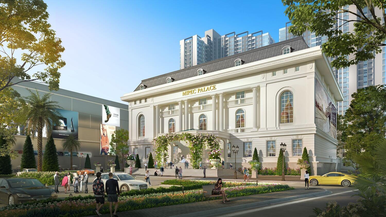 trung tâm tiệc cưới dự án mipec rubik 360