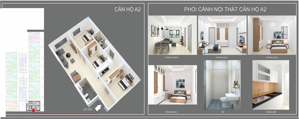 thiết kế căn hộ a2