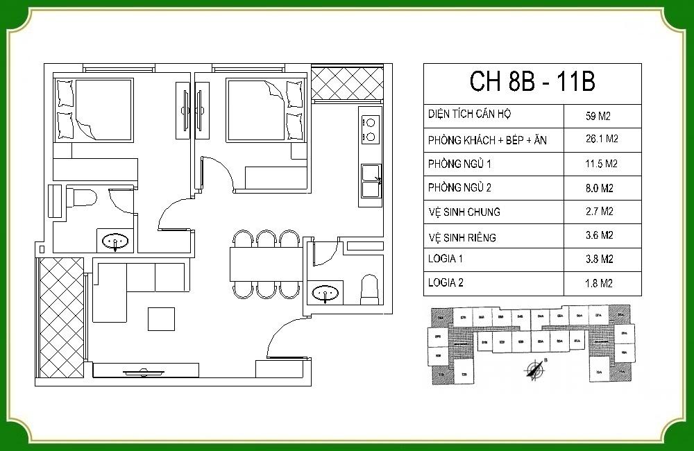 thiết kế căn hộ phương canh residence 9
