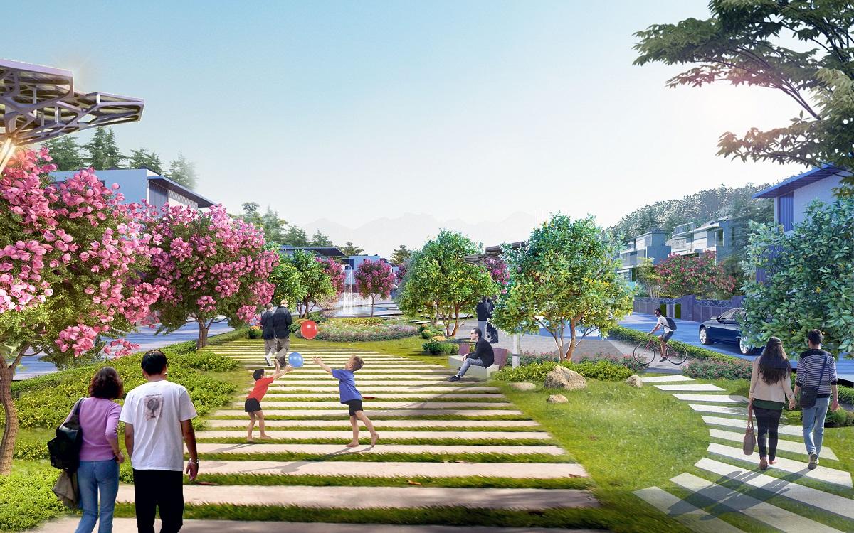 tiện ích dự án green pine villas hạ long