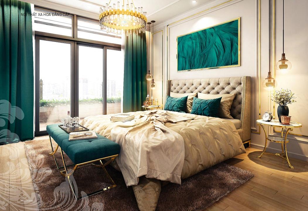 Nội thất bàn giao căn hộ The Emerald